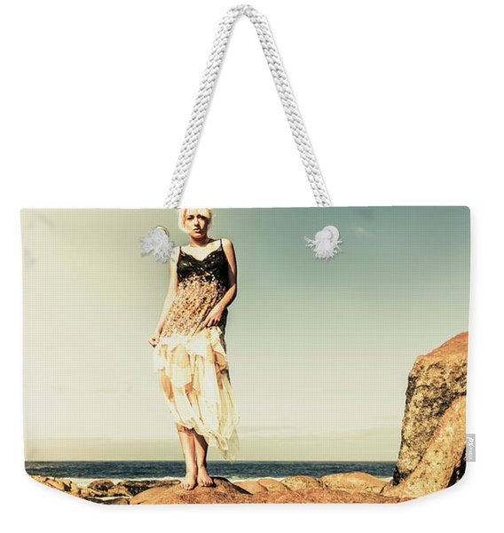 Retro Beach Fashions Weekender Tote Bag