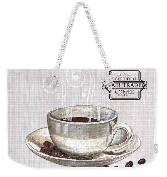 Retro Coffee Shop 1 Weekender Tote Bag
