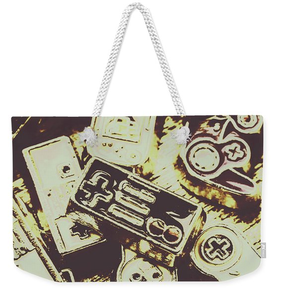 Retro Computer Games Weekender Tote Bag
