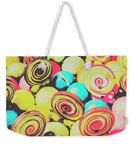 Retro Confectionery Weekender Tote Bag