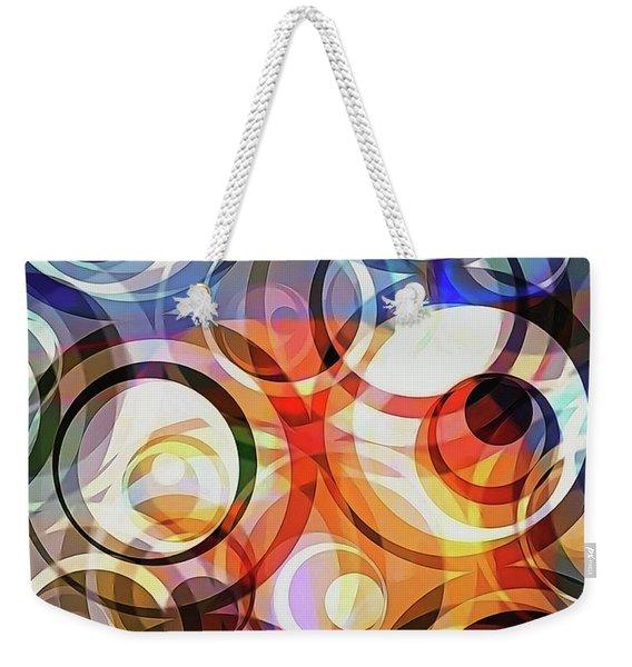 Retro Dimensions Weekender Tote Bag