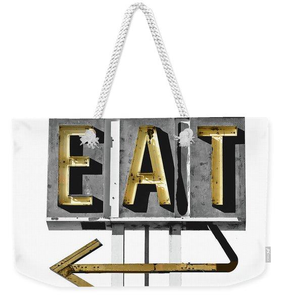 Retro Diner Sign Weekender Tote Bag