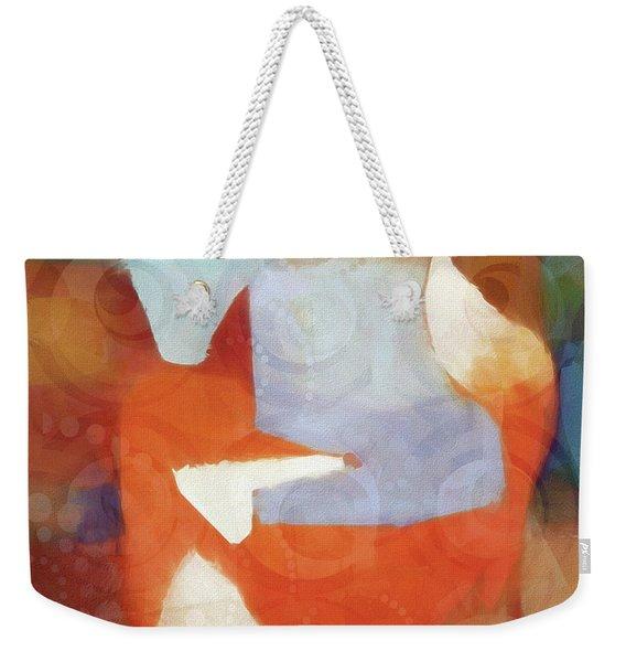 Retro Fox Weekender Tote Bag
