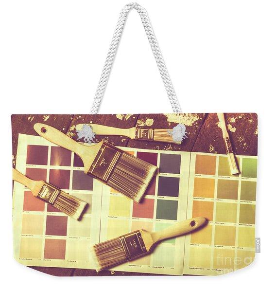 Retro Interior Design Weekender Tote Bag