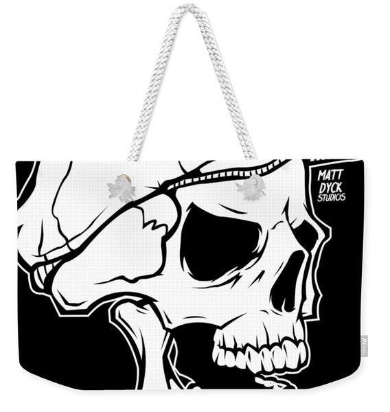Retro Skull Weekender Tote Bag