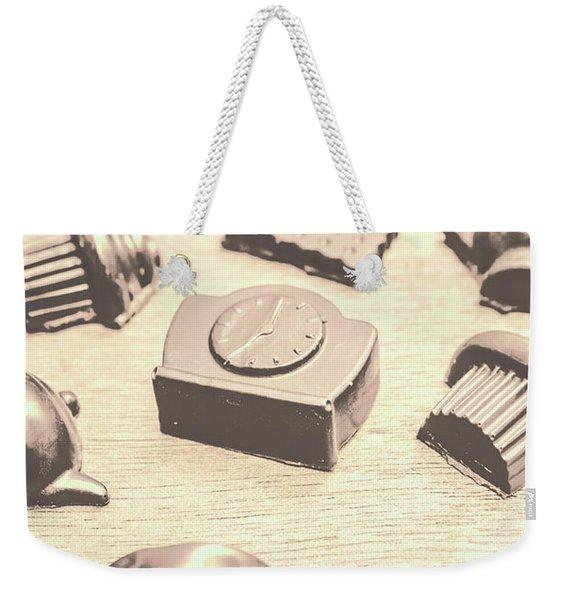 Retro Tea Party Weekender Tote Bag