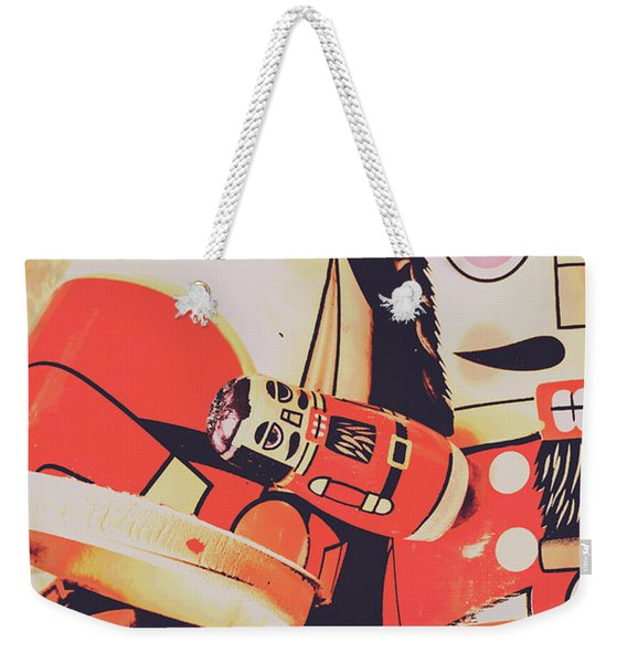 Retro Toy Memories Weekender Tote Bag