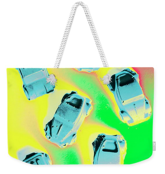 Retroactive Racing Weekender Tote Bag