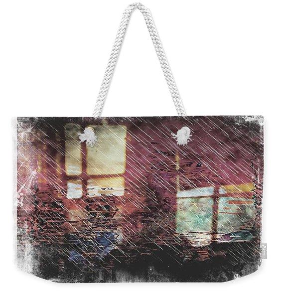 Retrospection Weekender Tote Bag