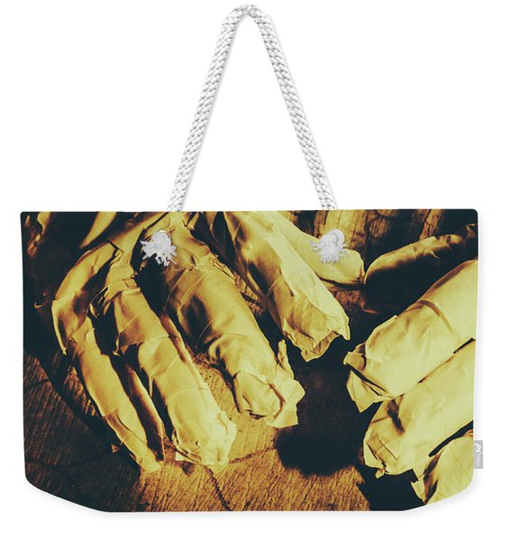 Return Of The Ancient Egyptian Pharaoh Weekender Tote Bag