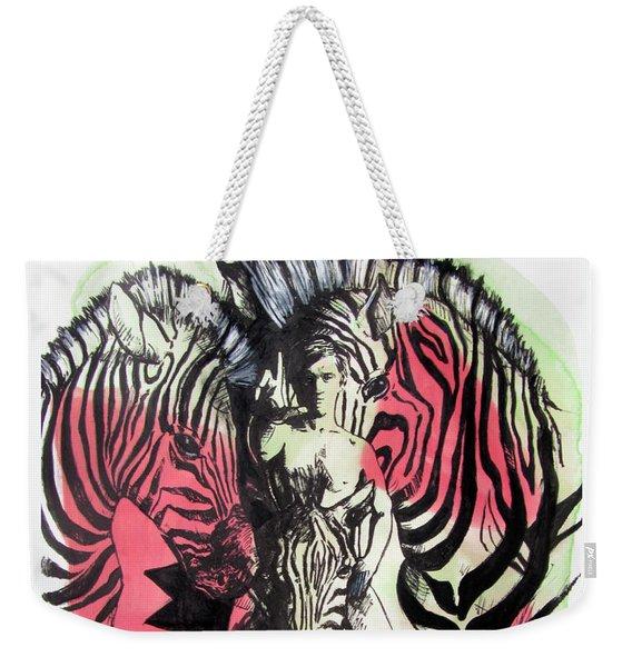 Return Of Zebra Boy Weekender Tote Bag