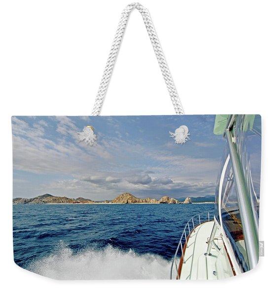 Returning To Port Weekender Tote Bag