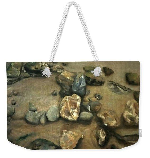 Revealed At Low Tide Weekender Tote Bag