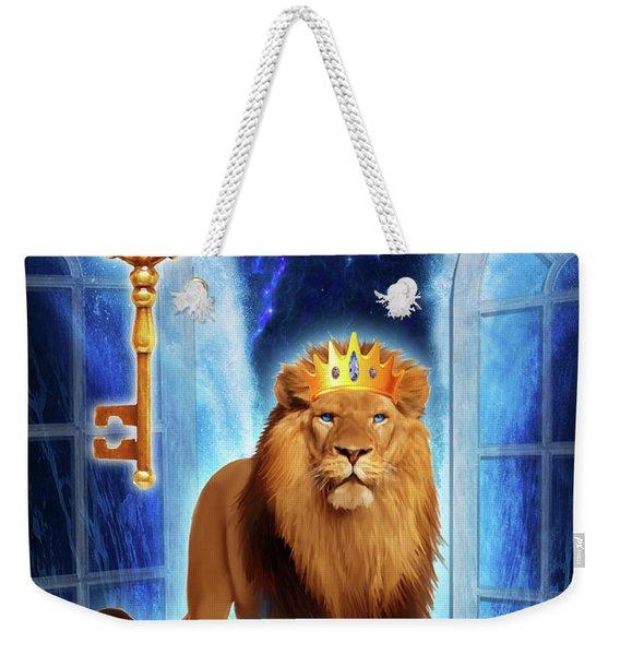 Revelation Gate Weekender Tote Bag