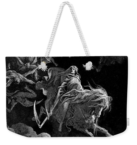 Revelation  Vision Of Death, By Gustave Dore Weekender Tote Bag