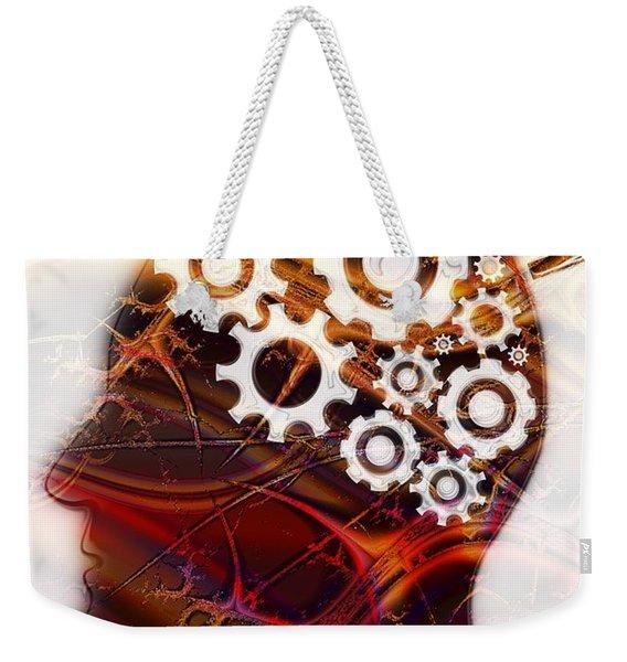 Reverse Psychology Weekender Tote Bag