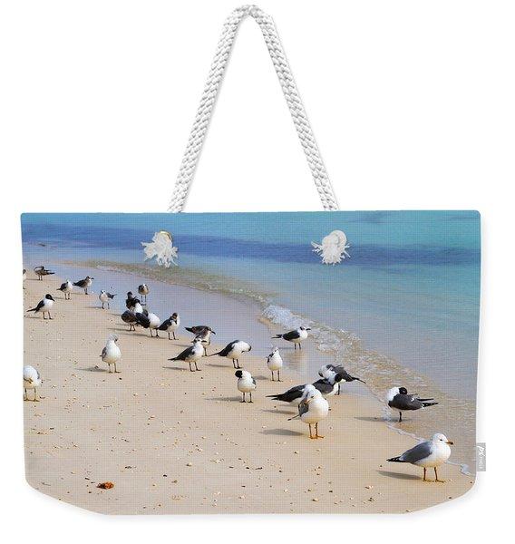 Rhapsody In Seabird Weekender Tote Bag