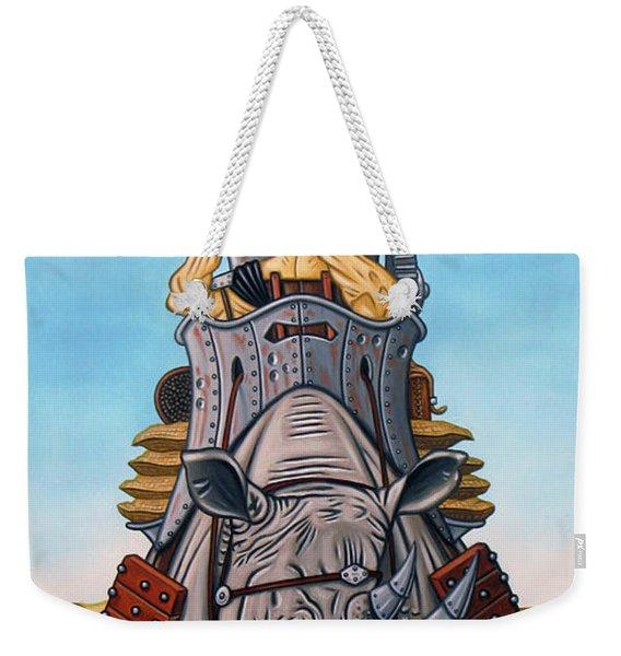 Rhinoceros Riders Weekender Tote Bag