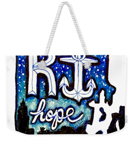 Rhode Island, Hope Weekender Tote Bag