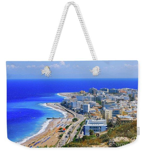 Rhodes Weekender Tote Bag