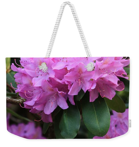 Rhododendron Beauty Weekender Tote Bag