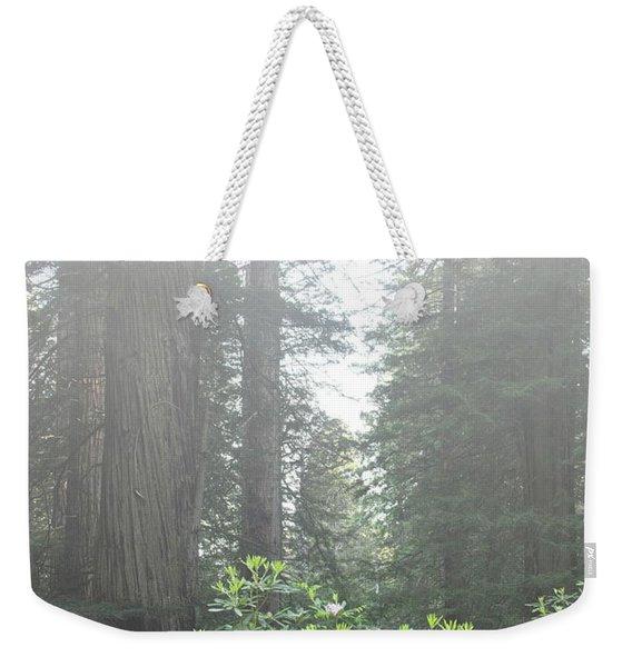 Rhododendrons In The Fog Weekender Tote Bag