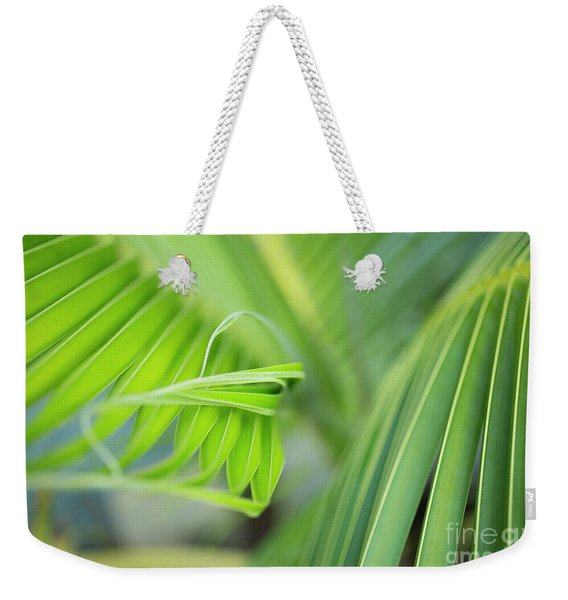 Rhythm Of A Palm Frond Weekender Tote Bag