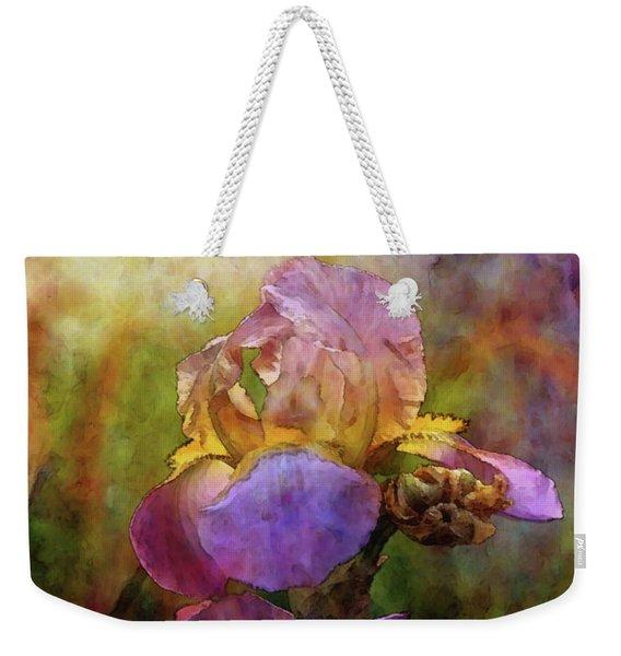 Rich Purple Irises 0056 Idp_22 Weekender Tote Bag
