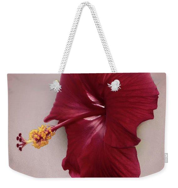 Rich Red Weekender Tote Bag