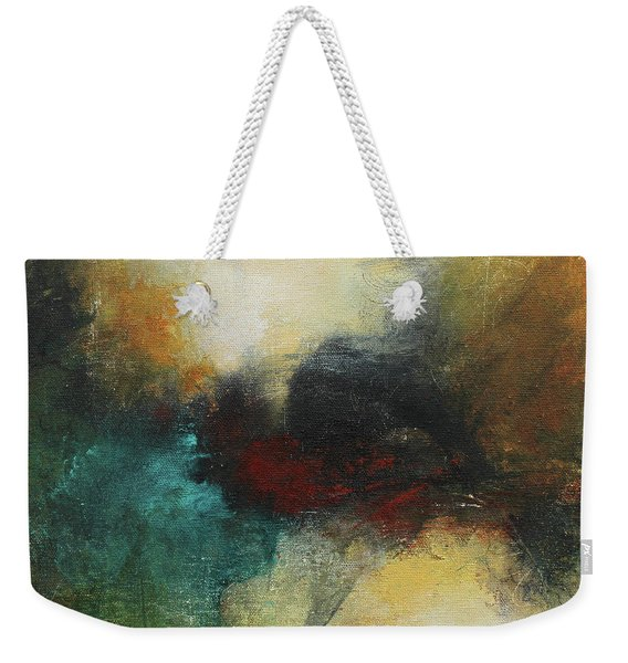 Rich Tones Abstract Painting Weekender Tote Bag