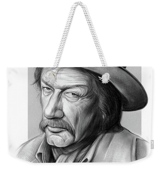 Richard Boone 3 Weekender Tote Bag