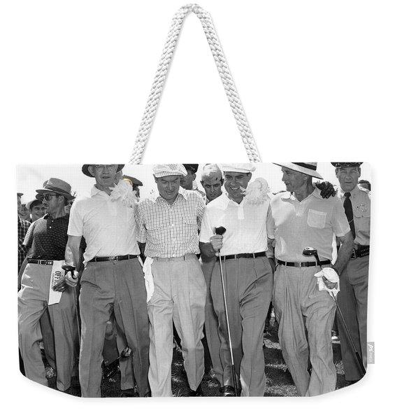 Richard Nixon Playing Golf Weekender Tote Bag