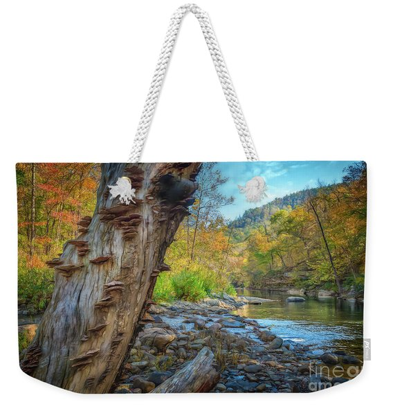 Richland Creek Weekender Tote Bag