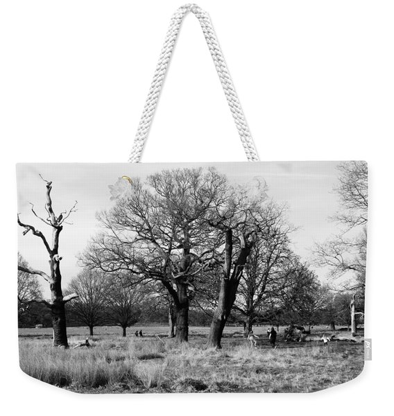 Richmond Park In London  Weekender Tote Bag