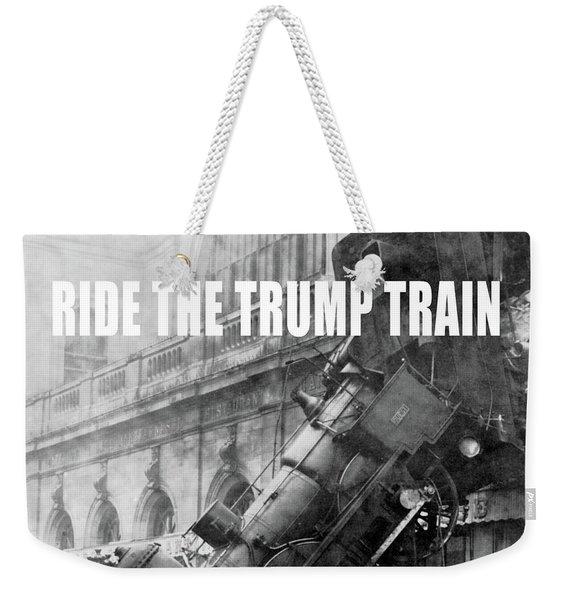 Ride The Trump Train Weekender Tote Bag