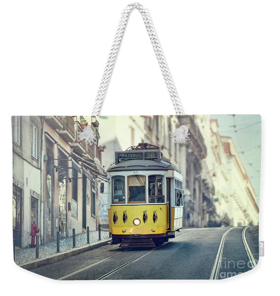 Ride These Streets Weekender Tote Bag