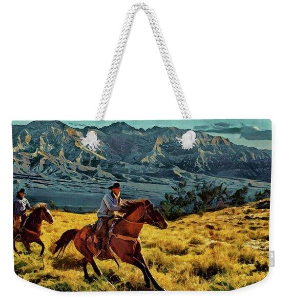 Ride'm Cowboy Weekender Tote Bag