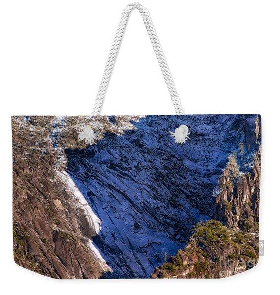 Ridgeline Shadows Weekender Tote Bag