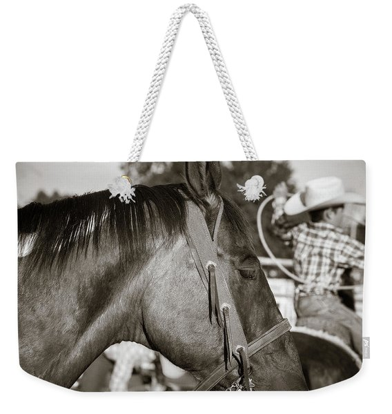 Riding And Roping Weekender Tote Bag
