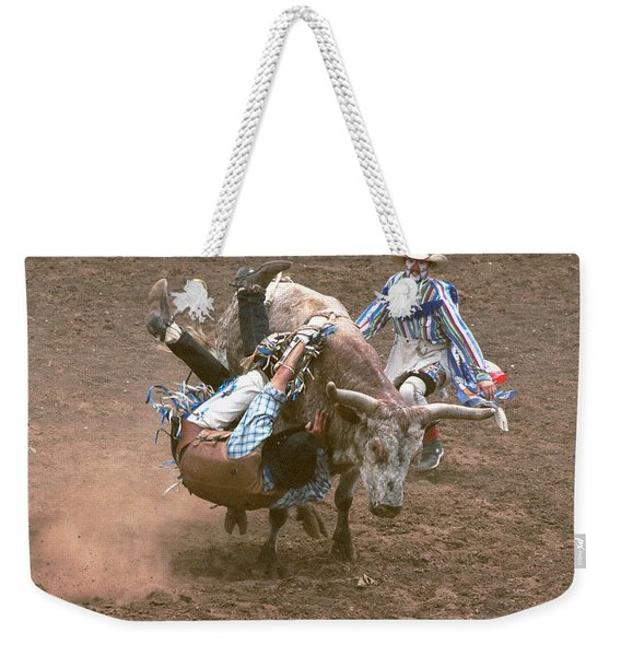 Riding Side Saddle Weekender Tote Bag