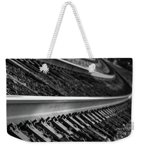 Riding The Rail Weekender Tote Bag