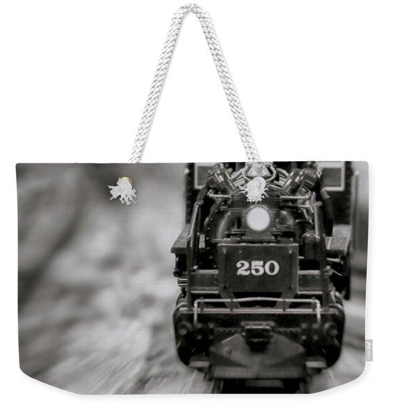 Riding The Railways Weekender Tote Bag