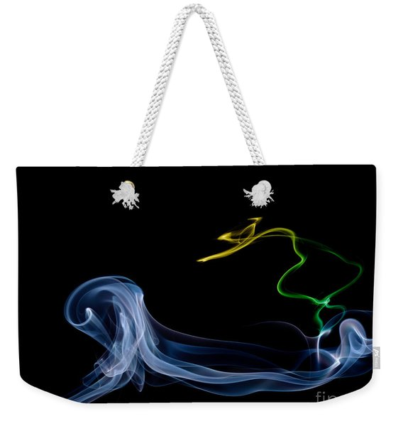 Riding The Wave Weekender Tote Bag