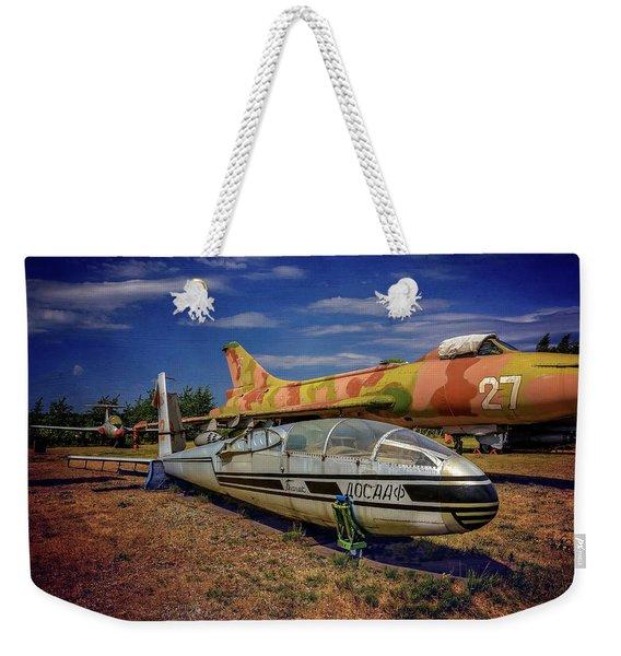 Riga Aviation Museum Weekender Tote Bag