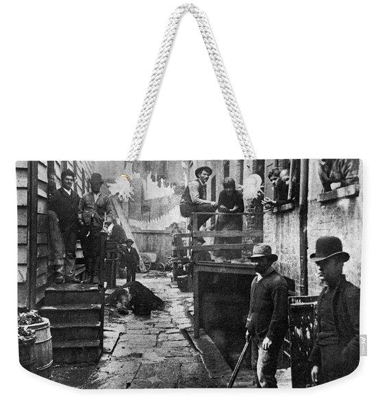 Riis: Bandits Roost, 1887 Weekender Tote Bag