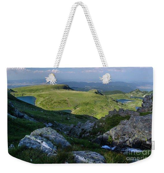 Rila Lakes-1 Weekender Tote Bag