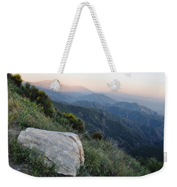 Rim O' The World National Scenic Byway Weekender Tote Bag