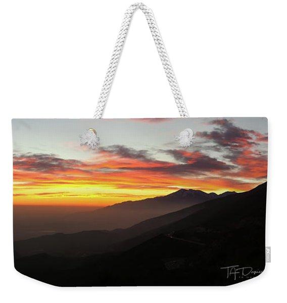 Rim Of The World Weekender Tote Bag