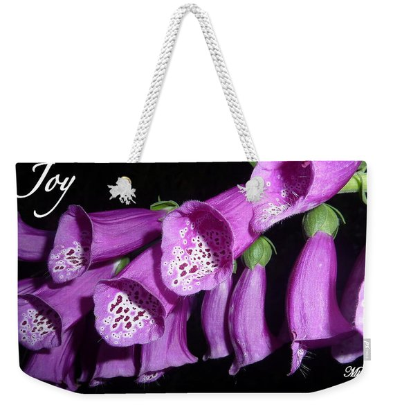 Ring My Bell With Joy Weekender Tote Bag
