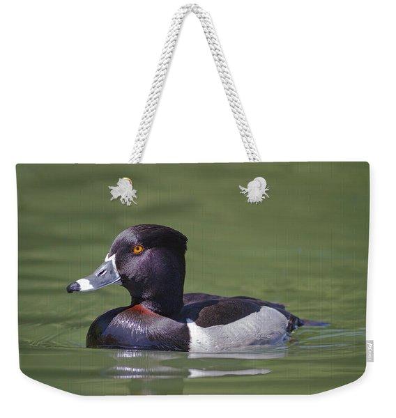 Ring-necked Duck Profile Weekender Tote Bag